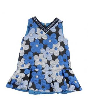 Платье MIMISOL. Цвет: синий
