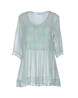 Блузка MYRINE. Цвет: светло-зеленый