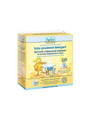 Детский стиральный порошок BABYLINE, 2,25 кг. Babyline. Цвет: желтый