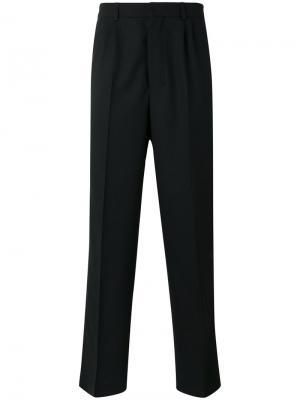 Классические брюки свободного кроя Ami Alexandre Mattiussi. Цвет: чёрный