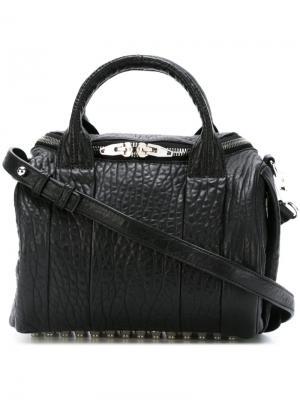 Фактурная сумка-тоут Rockie Alexander Wang. Цвет: чёрный