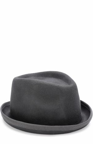 Шерстяная шляпа Isabel Benenato. Цвет: черный