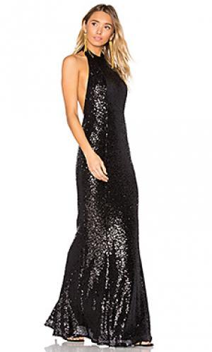 Вечернее платье danny Elle Zeitoune. Цвет: черный