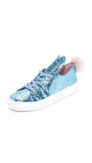 Кроссовки Tail Minna Parikka. Цвет: голубой