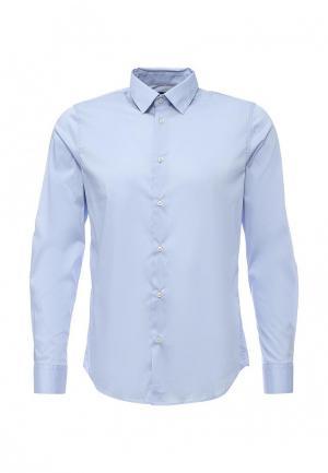 Рубашка Sisley. Цвет: голубой