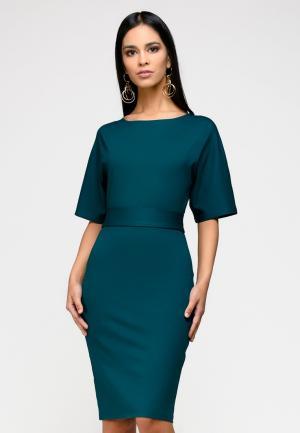 Платье 1001dress. Цвет: зеленый