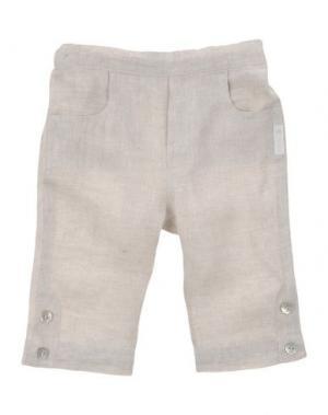 Повседневные брюки NANÁN. Цвет: светло-серый