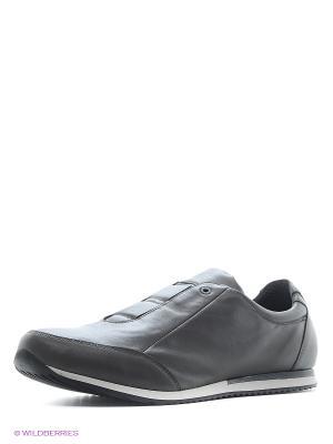 Кроссовки BEKERANDMILLER. Цвет: серый