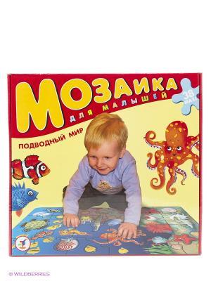 Мозаика для малышей. Подводный мир Дрофа-Медиа. Цвет: желтый, красный