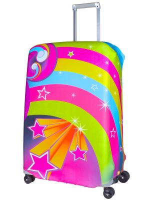Чехол для чемодана Lucy L/XL Coverway. Цвет: желтый