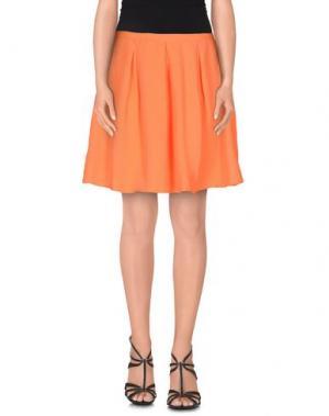 Мини-юбка OPENING CEREMONY. Цвет: оранжевый