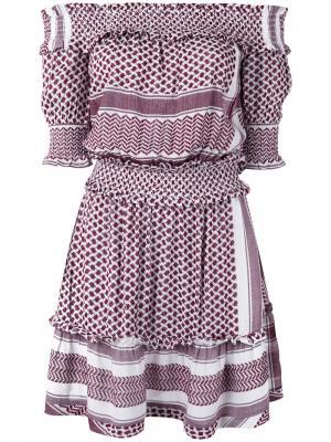 Off shoulder dress Cecilie Copenhagen. Цвет: красный