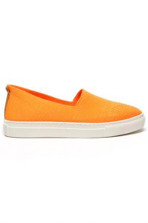 Слипоны DERI&MOD. Цвет: оранжевый
