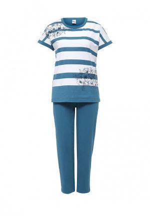 Пижама Vis-a-Vis. Цвет: бирюзовый