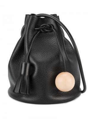 Маленькая сумка-мешок Building Block. Цвет: чёрный