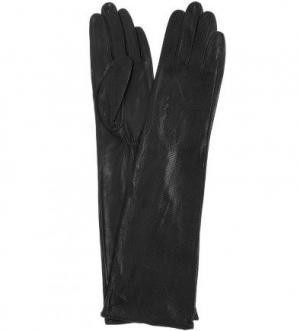 Длинные кожаные перчатки Bellagio. Цвет: черный