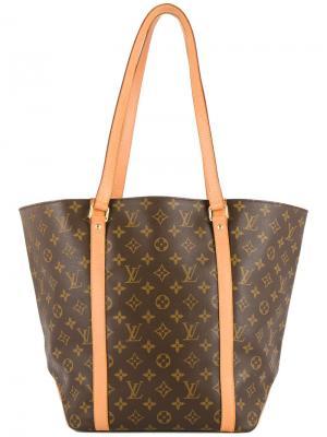 Сумка-шоппер с монограммой Louis Vuitton Vintage. Цвет: коричневый