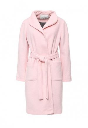 Пальто Tutto Bene. Цвет: розовый