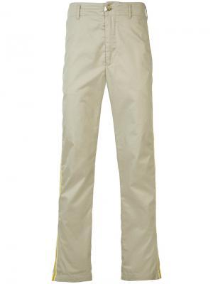 Классические чиносы Engineered Garments. Цвет: телесный