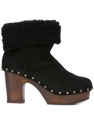Ботинки на платформе LAutre Chose L'Autre. Цвет: чёрный
