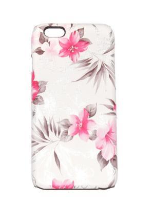 Чехол для iPhone 6/6s Lola. Цвет: бежевый, розовый, серебристый