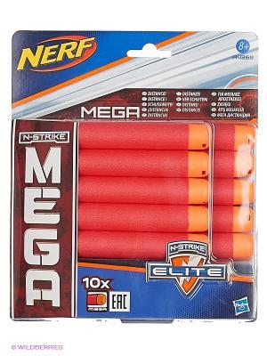 МЕГА 10 Стрел Hasbro. Цвет: зеленый, красный, оранжевый, синий