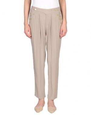 Повседневные брюки MIGUEL PALACIO for HOSS INTROPIA. Цвет: светло-серый
