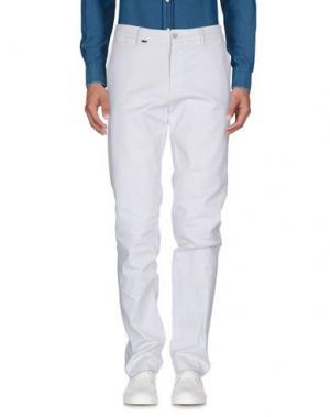 Повседневные брюки EM'S OF MASON'S. Цвет: белый