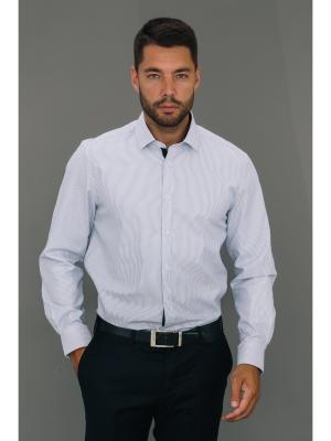 Рубашка John Jeniford. Цвет: сиреневый, белый