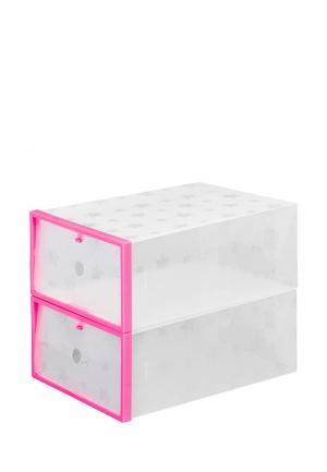 Комплект El Casa. Цвет: розовый