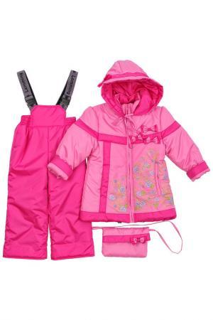 Комплект Lemming. Цвет: розовый