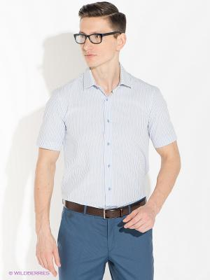 Рубашка ABSOLUTEX. Цвет: светло-голубой