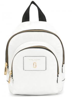 Мини-рюкзак с двумя отсеками Marc Jacobs. Цвет: белый