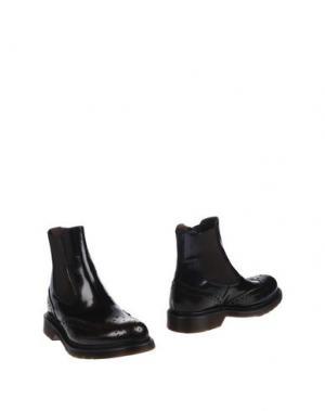 Полусапоги и высокие ботинки SEBOY'S. Цвет: красно-коричневый