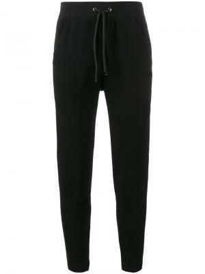Спортивные брюки Lot78. Цвет: чёрный