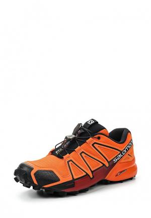 Кроссовки Salomon. Цвет: оранжевый