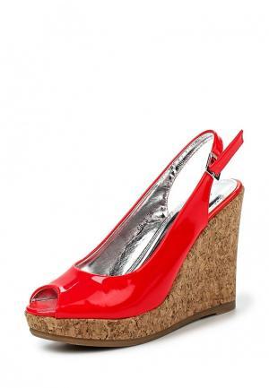 Босоножки Donna Moda. Цвет: красный