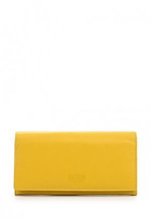 Кошелек Mano. Цвет: желтый