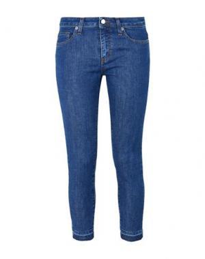 Джинсовые брюки-капри 8. Цвет: синий
