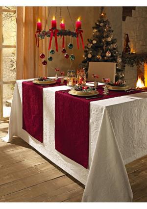 Дорожка для стола Pichler. Цвет: белый, бирюзовый, желтый, кремовый, серо-коричневый, темно-зеленый, темно-серый, ягодный