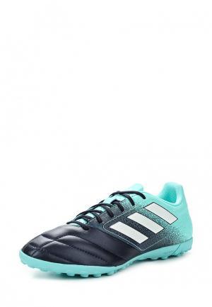 Шиповки adidas Performance. Цвет: синий