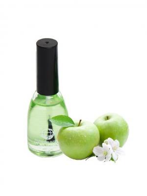 Масло для кутикулы Зеленое яблоко 15 мл. Континент Красоты. Цвет: зеленый