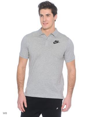 Футболка-поло M NSW POLO SS MATCHUP JSY Nike. Цвет: серый