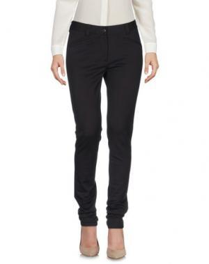 Повседневные брюки METRADAMO. Цвет: темно-коричневый