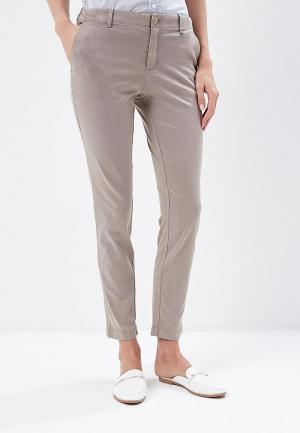 Брюки Tommy Jeans. Цвет: серый