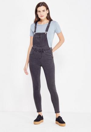 Комбинезон джинсовый Medicine. Цвет: серый