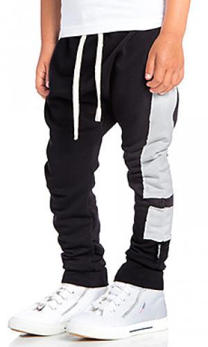 Широкие брюки exclamation Nununu. Цвет: черный