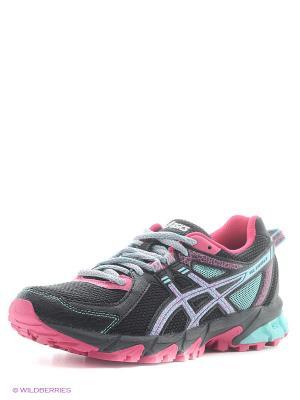 Спортивная обувь GEL-SONOMA 2 ASICS. Цвет: черный, розовый, синий