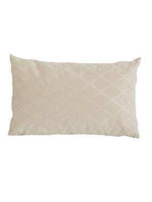 Декоративная прямоугольная подушка Вивант LACCOM. Цвет: бежевый