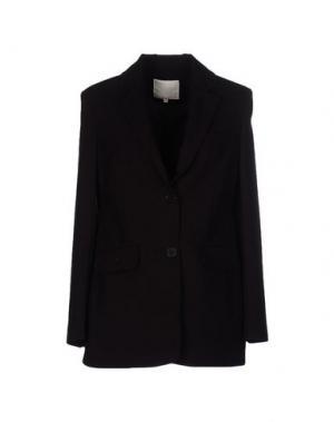 Пиджак TROU AUX BICHES. Цвет: темно-коричневый